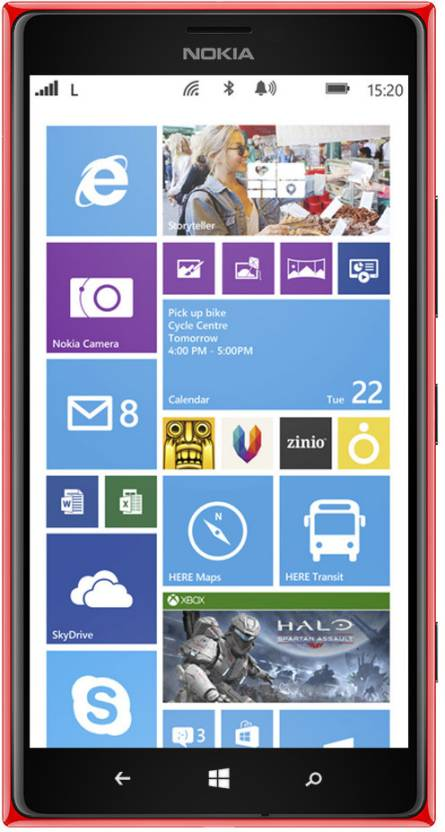 Nokia Lumia 1520 (Red, 32 GB)