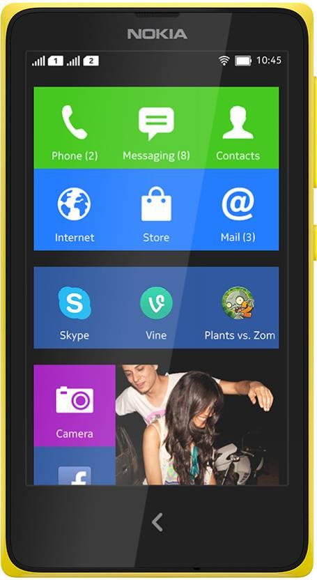 Nokia X (Yellow, 4 GB) By Flipkart @ Rs.5,099