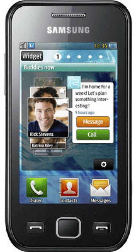 Samsung Wave 525 (Metallic Black, 512 MB)