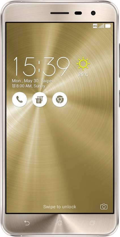 Asus Zenfone 3 (Gold, 64 GB)