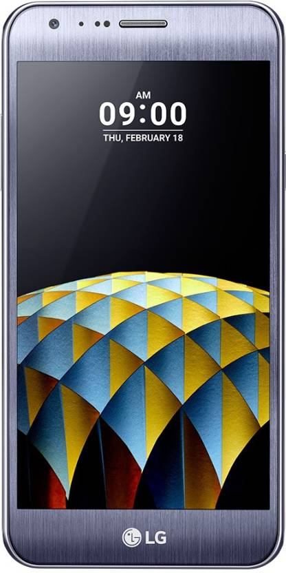 LG X Cam  Titan Silver, 16  GB  2  GB RAM  LG Mobiles available at Flipkart for Rs.12990