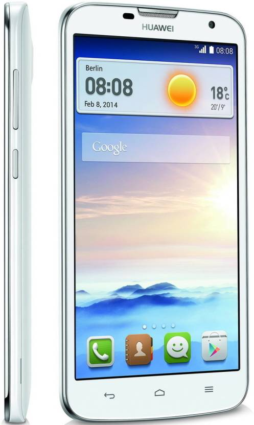 Huawei AscendG730 (White, 4 GB)