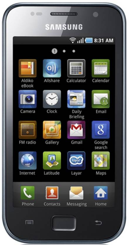 Samsung Galaxy S LCD (Midnight Black, 4 GB)