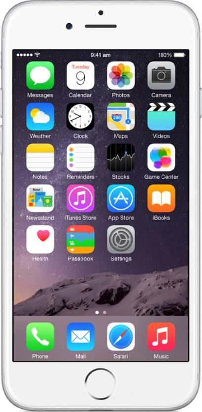 Apple iPhone 6 (Silver, 128 GB)