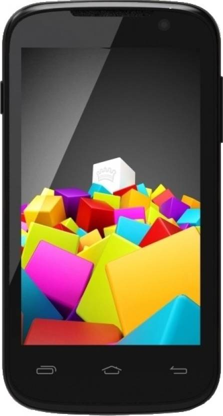 Micromax Canvas Fun A63 (Black, 2 GB)