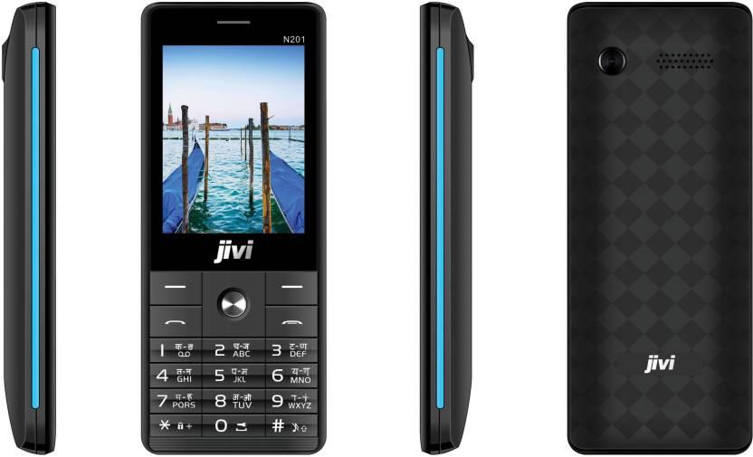 Jivi N201 (Black & Blue)