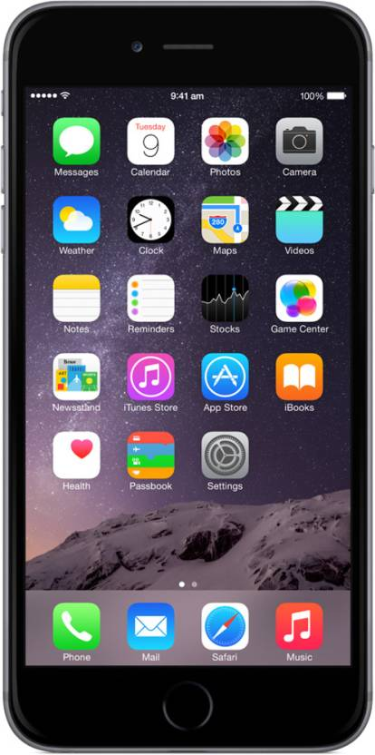 Apple iPhone 6 Plus (Space Grey, 64 GB)