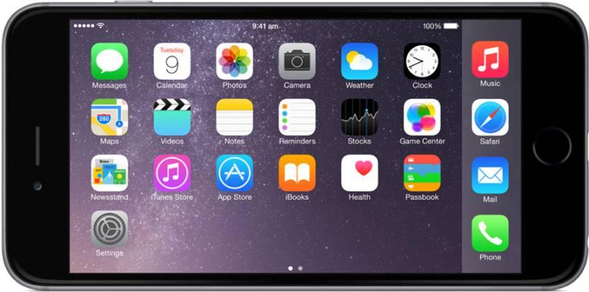 Apple iPhone 6 Plus (Space Grey, 64 GB)