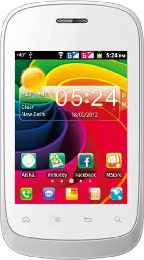 Micromax Aisha A52 (White, 160 MB)