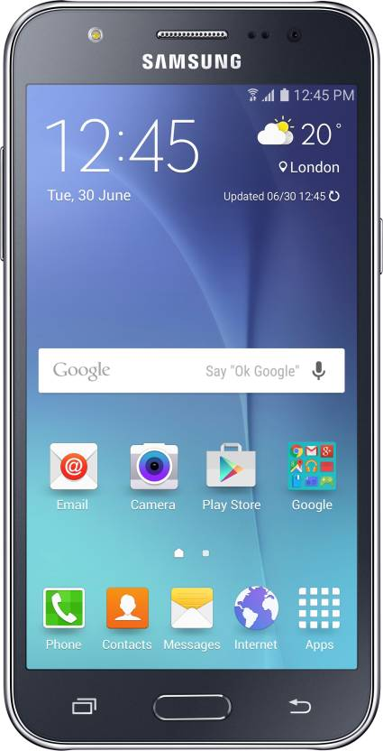 Samsung Galaxy J7  Black, 16   GB  available at Flipkart for Rs.10990