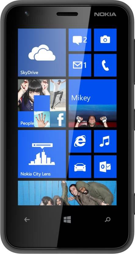Nokia Lumia 620 (Black, 8 GB)