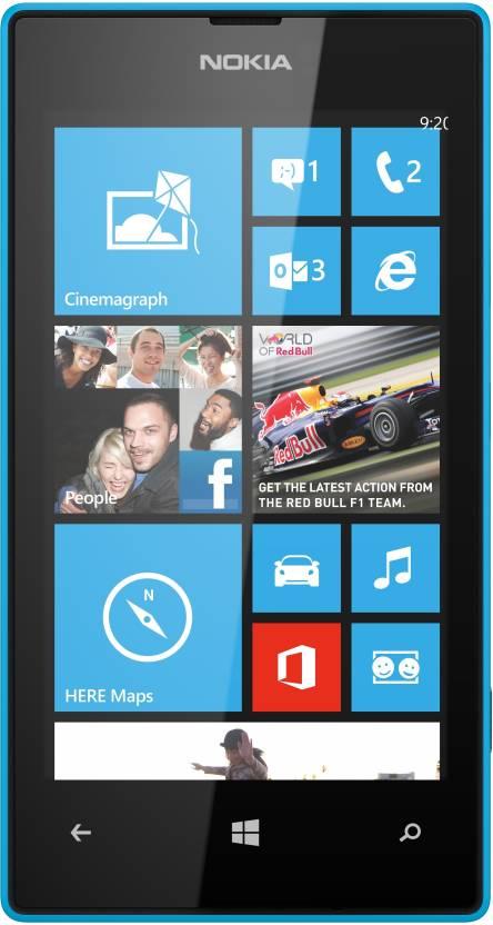 Nokia Lumia 520 (Cyan, 8 GB)