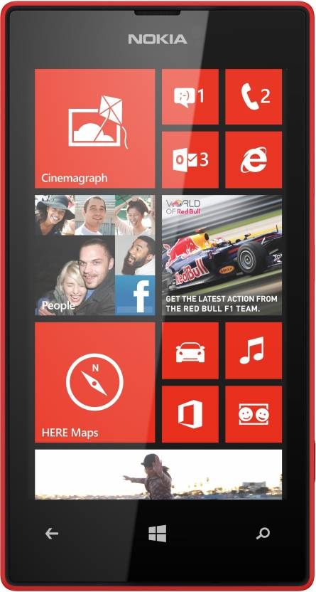 Nokia Lumia 520 (Red, 8 GB)