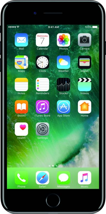 Apple iPhone 7 Plus (Jet Black, 128 GB)