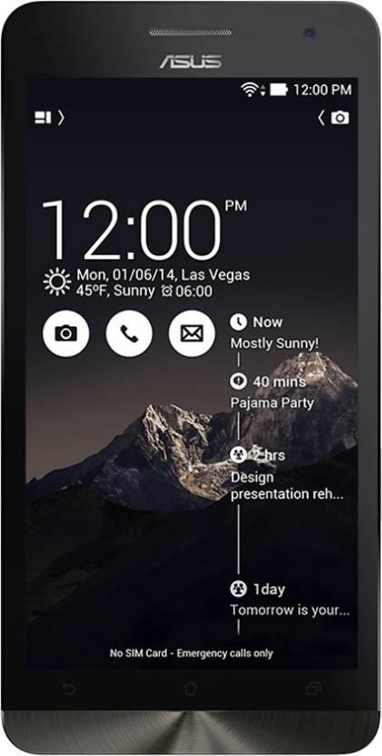 Asus Zenfone 6 (Dandy Red/Deep Black, 16 GB)