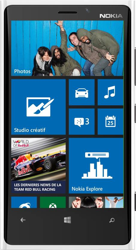 Nokia Lumia 920 (White, 32 GB)
