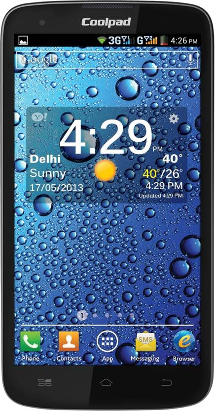 Spice Mi-515 Coolpad (Blue, 4 GB)