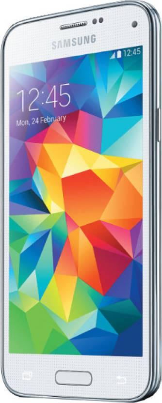 Samsung S5 Mini (Shimmery White, 16 GB)