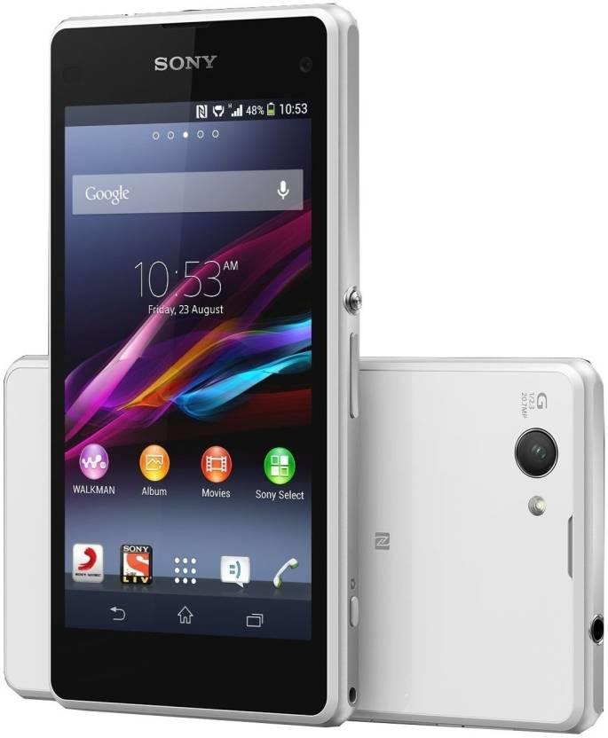 Sony Xperia Z1 Compact (White, 16 GB)