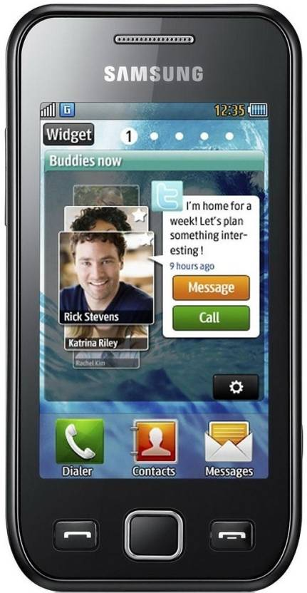 Samsung Wave 525 (Metallic Black, 100 MB)
