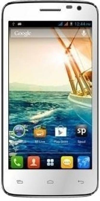 Micromax Canvas Juice A177 (White, 4 GB)