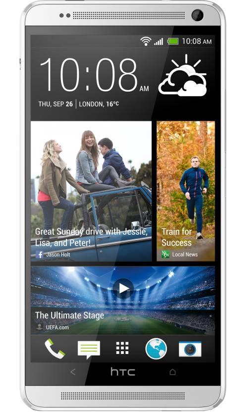 HTC One Max (Silver White, 16 GB)