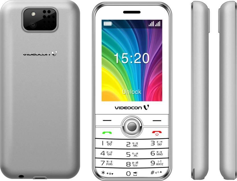 Videocon V3CB1 (Black & Silver)