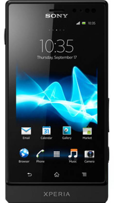 Sony Xperia Sola (Black, 8 GB)