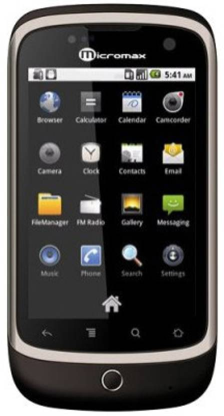 Micromax A70 (Cocoa Brown, 160 MB)