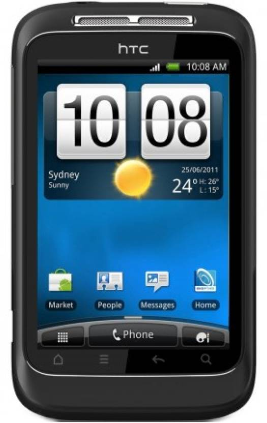 HTC Wildfire S (Dark Grey, 512 MB)