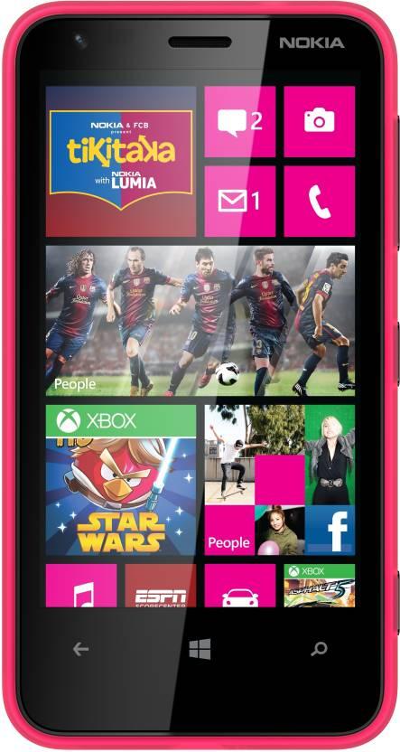 Nokia Lumia 620 (Magenta, 8 GB)