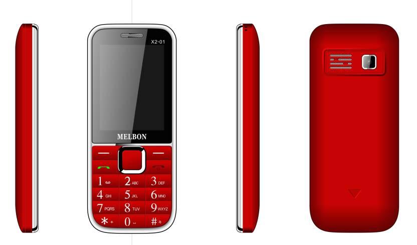 Melbon X2-01 (Red)