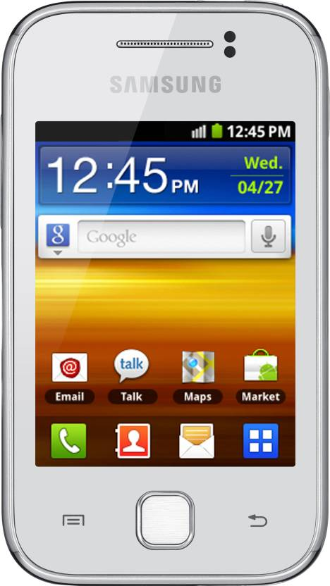 Samsung Galaxy Y S5360 (Pure White, 180 MB)
