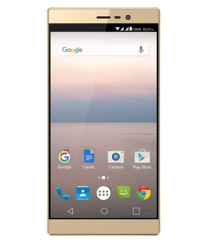 Panasonic Eluga A2 (Metallic Gold, 16 GB)