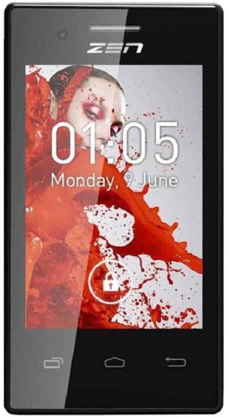 Zen Ultrafone 105 3g (Black, 2 GB)