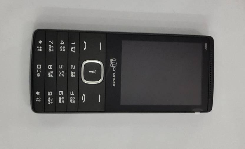 Micromax X801 (Black)