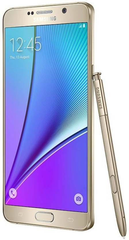 Samsung Galaxy Note 5 Dual (Gold Platinum, 32 GB)