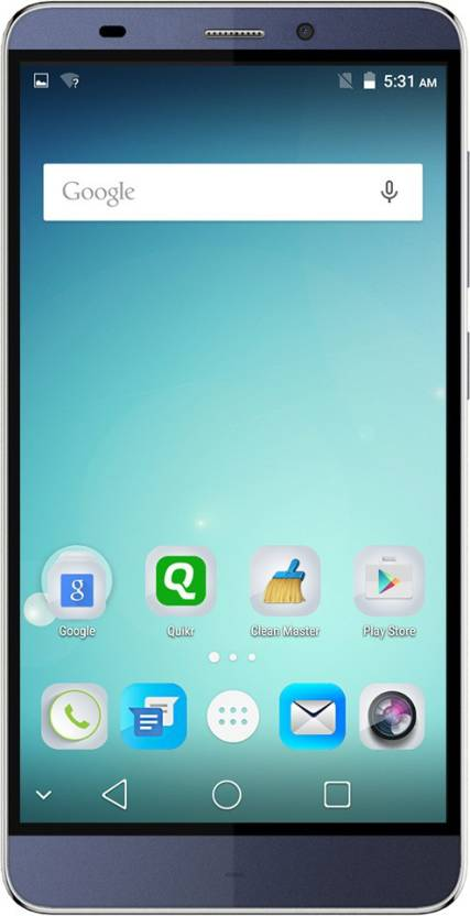 Micromax Canvas Mega 4G (Blue, 16 GB)