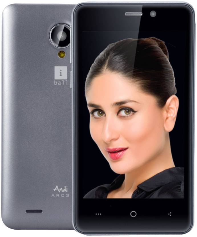 Iball ARC3 (Metallic Silver, 8 GB)