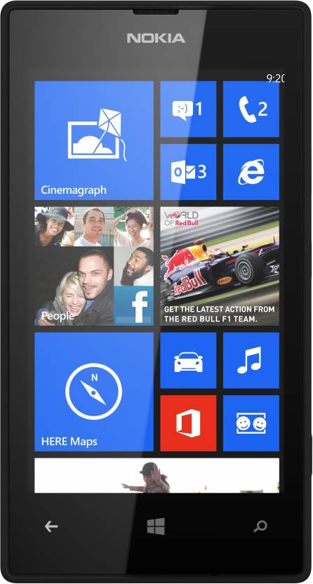 Nokia Lumia 520 (Black, 8 GB)
