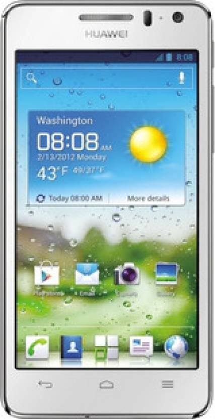 Huawei Ascend G-600 (Pure White, 4 GB)