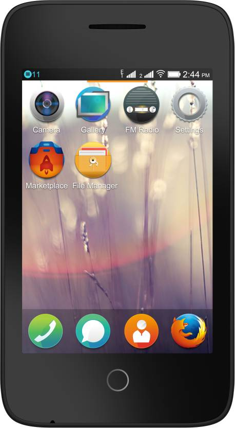 Alcatel Onetouch Fire C 2G (Bluish Black, 256 MB)