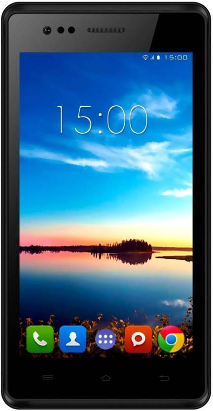 Intex Aqua 4.5e (Black, 4 GB)