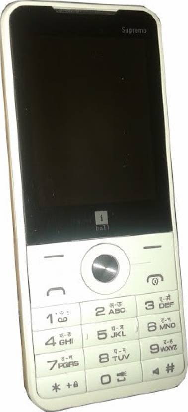 iBall Supremo 2.4D (White & Gold)