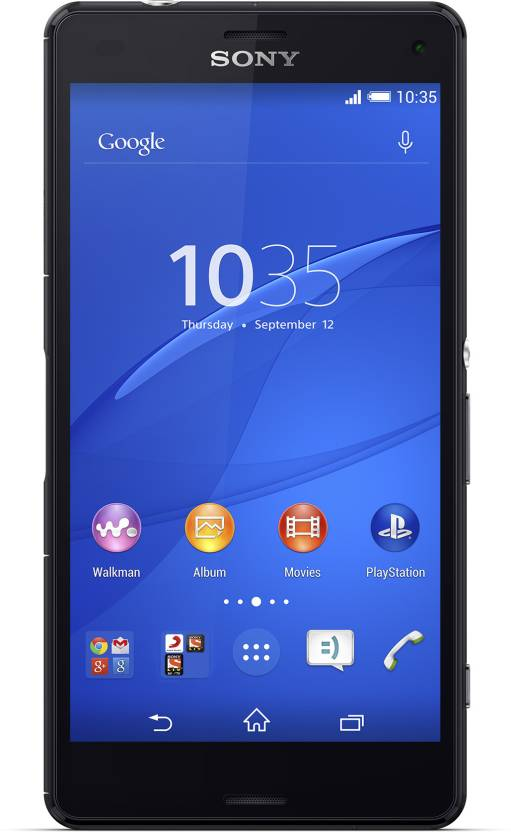 Sony Xperia Z3 Compact (Black, 16 GB)