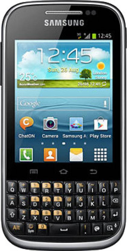 Samsung Galaxy Chat (Black, 4 GB)