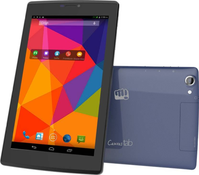 Micromax Canvas Tab (Blue, 8 GB)