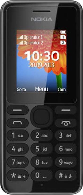 Nokia 108 Dual SIM (Black)