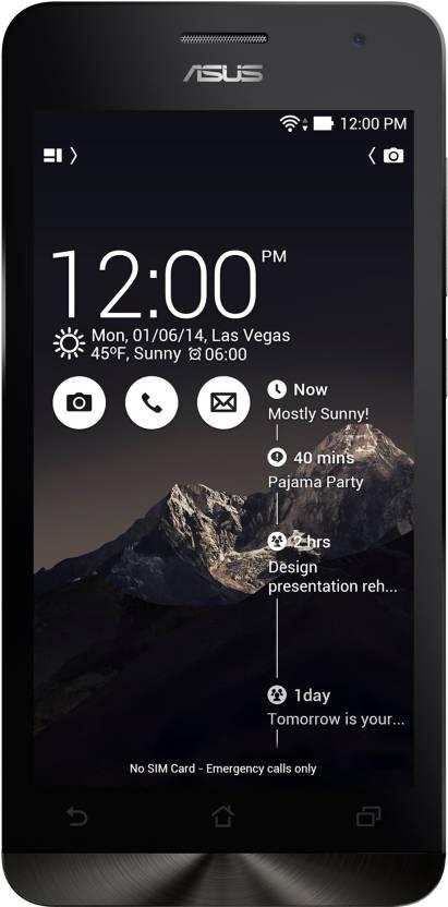 Asus Zenfone 5 A502CG (Deep Black, 8 GB)