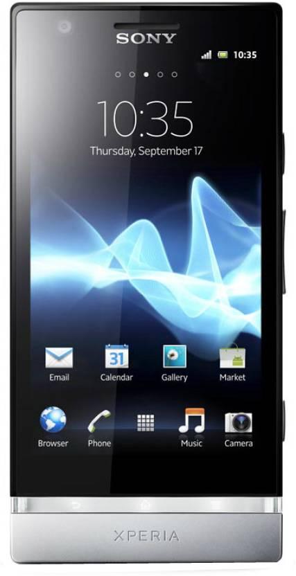 Sony Xperia P (Silver, 16 GB)